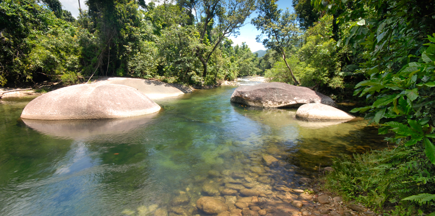 Landscaping Boulders Brisbane : Babinda boulders things to do in cairns tours