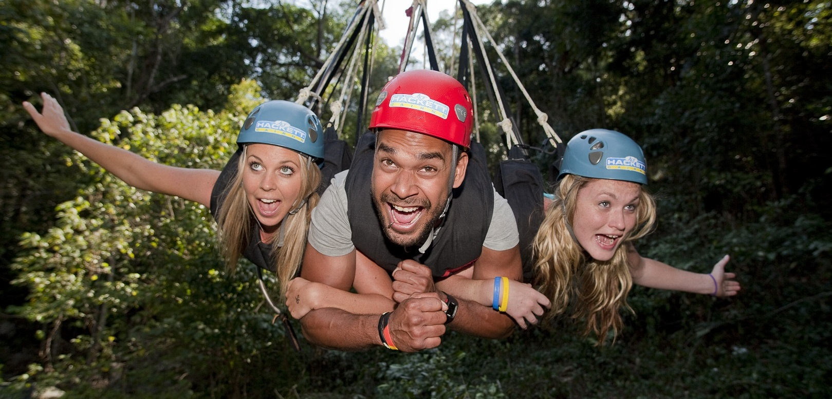AJ Hackett: Giant Jungle Swing
